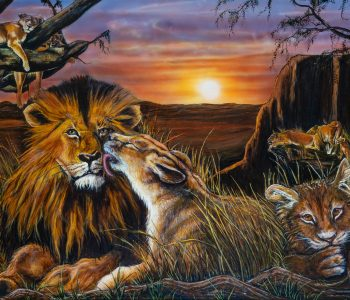 Family Pride 30x40 oil on canvas